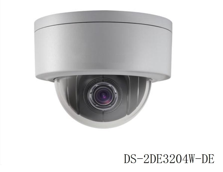 Original DS 2DE3204W DE 2MP 1080P 3 Mini PTZ CCTV IP Camera 2 8mm 12mm 4X