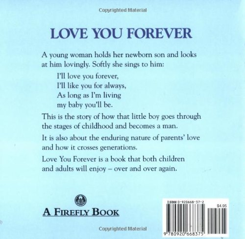 i love you forever baby book