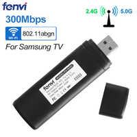 Fenvi double bande 300Mbps sans fil USB WiFi Lan adaptateur Ralink RT3572 Dongle 2.4G/5Ghz WIS12ABGNX WIS09ABGN pour Samsung Smart TV