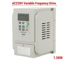 цена на 1.5KW 3HP 220V Variable Frequency Drive Inverter VFD Speed Control 1-3 Phase