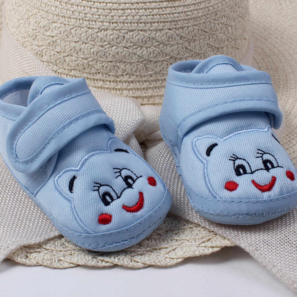 baby shoes Baby Girl Boy Soft Sole Cartoon Anti-slip Shoes Toddler Shoes newborn shoes zapatos baby schoenen Hot sale #06