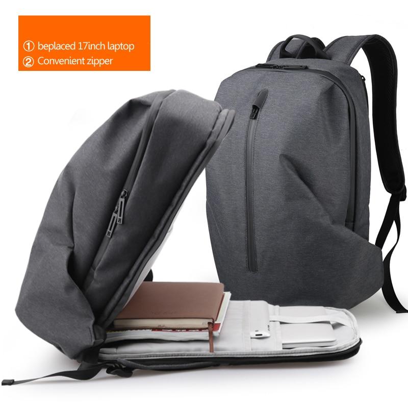 dunkles Dieb Laptop Kapazität Für Reise Männer Rucksäcke Neue blau Anti Teenager Schwarzes Riesige Computer Wasserdicht Freizeit 17 Rucksack Fyuze Männlichen Grau Zoll wRqC6AA