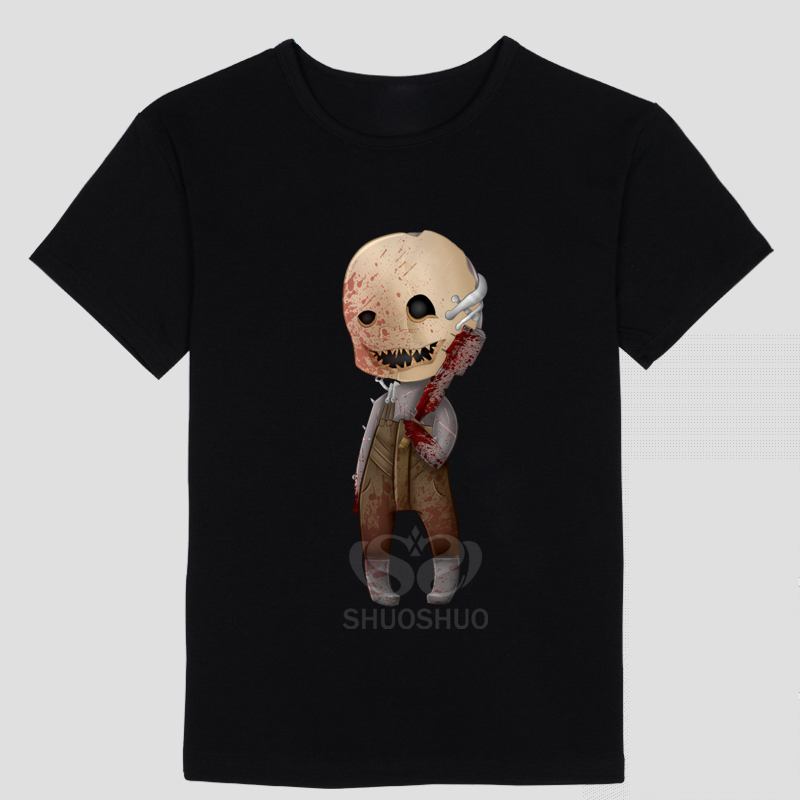 Dead by Daylight Logo Cotton O-Neck Priting Pattern Short Sleeve T-shirts Tee Shirts