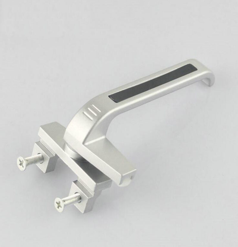 Special Curtain Wall Aluminum Windows Handle 7 Handle Casement Aluminum Doors Lock X2