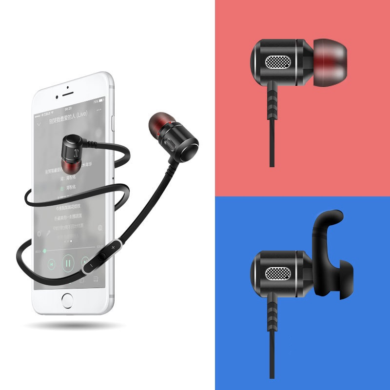 New Fashion Bluetooth Earphone HIFI Stereo Wireless Handsfree Sport Headphone with Mic for iPhone Xiaomi Samsung Mobile Phone new stereo headset bluetooth earphone headphone mini v4 0 wireless bluetooth handsfree universal for smart phone iphone samsung