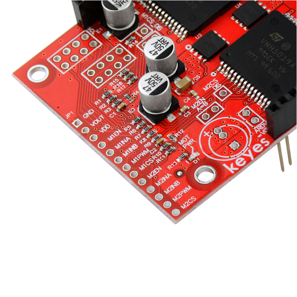 Image 3 - KEYES Dual High Power DC Motor Driver Shield VNH5019 Compatible with ARDUINO (Environmental Protection)-in Demo Board from Computer & Office