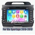Wince 6.0 Dvd-плеер Автомобиля Система Навигации GPS Радио Стерео для Kia SPORTAGE 2010 2011 2012 2013 с Бесплатным SD карты