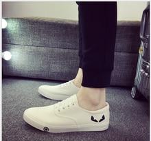 Spring Men's Flat Canvas Shoes Breathable White Black Casual Shoes Men Fashion Mens Shoes Slip on Loafers Espadrilles Size 39-44