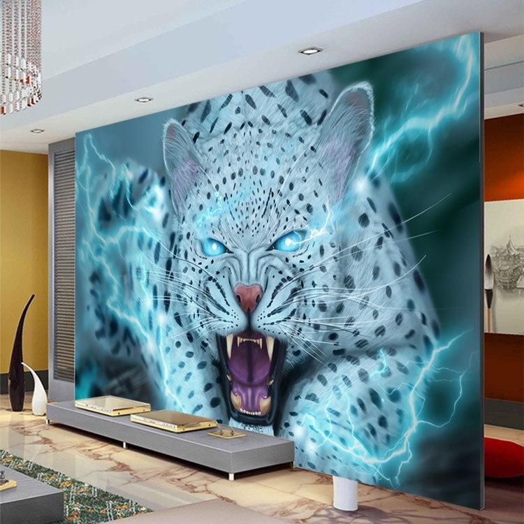 Leopard Bedroom Ideas For Painting: Fantasy Leopard Wallpaper Animal Photo Wallpaper