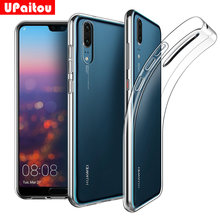 UPaitou Clear TPU Case for Huawei P20 / Pro / Lite Case Transparent Soft Sinicon Back Cover Case for Huawei P20Pro(China)