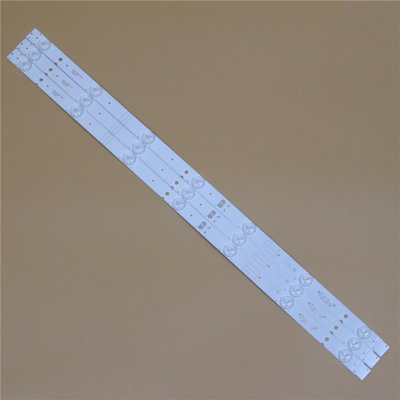 TV LED Light Bars For GoldStar LT-32T450R 32 Inch Backlight Strips Kit 7 LED Lamps Lens 8 Bands 5800-W32001-3P00 0P00 Ver00.00