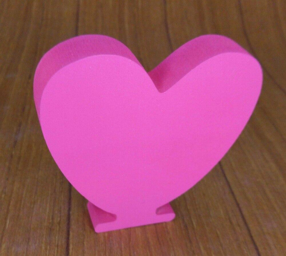 8 см искусственные деревянные письмо бабочка Корона сердце кольцо цифровой номер для Свадебные Украшения знак столешницы настоящее украше...