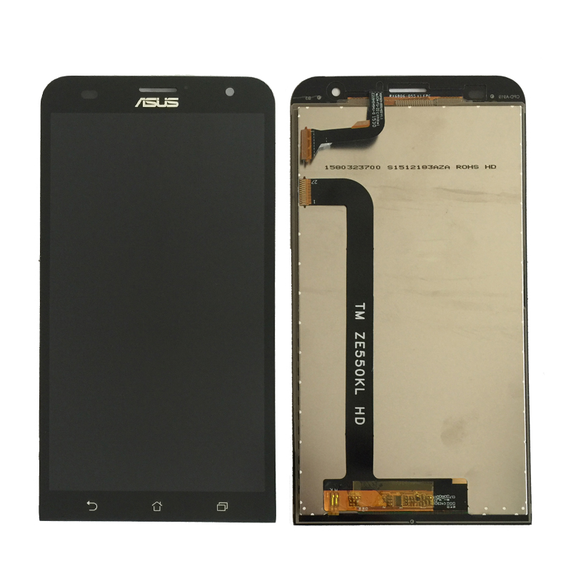 5.5 ''lcd Pour ASUS Zenfone 2 ZE551ML ZE500CL ZE550KL ZE500KL LCD Affichage et Écran Tactile Digitizer Assemblée Zenfone 2 laser lcd