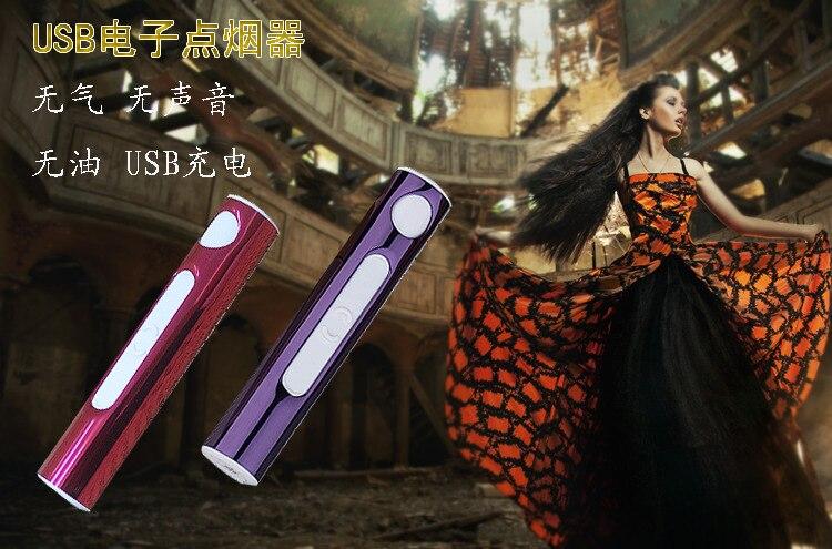 Мода женщины легче USB зарядки легче творческой личности мужчины легче дуги ветрозащитный легкие подарки
