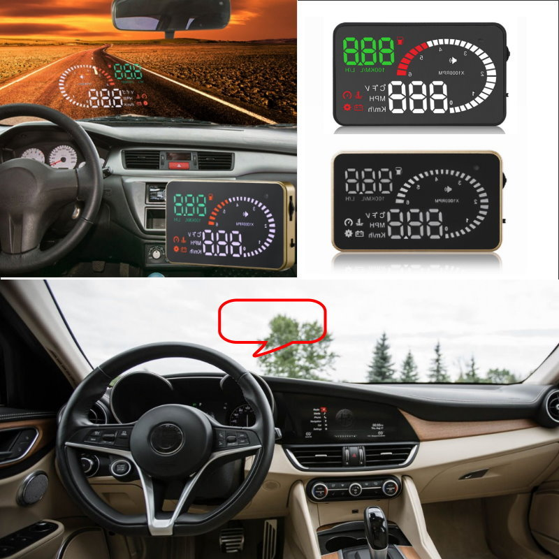 Liislee Car HUD Head Up Display For Alfa Romeo 147 156 159 Romeo MiTo GT Giulietta - Safe Screen Projector / OBD II Connector bluetooth hands free adaptor car integrated usb aux jack interface for alfa romeo brera gt spider mito 147 156 159 giulietta