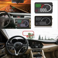 Liislee Car HUD Head Up Display For Alfa Romeo 147 156 159 Romeo MiTo GT Giulietta Safe Screen Projector / OBD II Connector