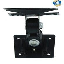 F01 frete Grátis 14-24 polegada 180 Graus Giratória Tilt LCD LED Monitor de TV Wall Mount Bracket Suporte