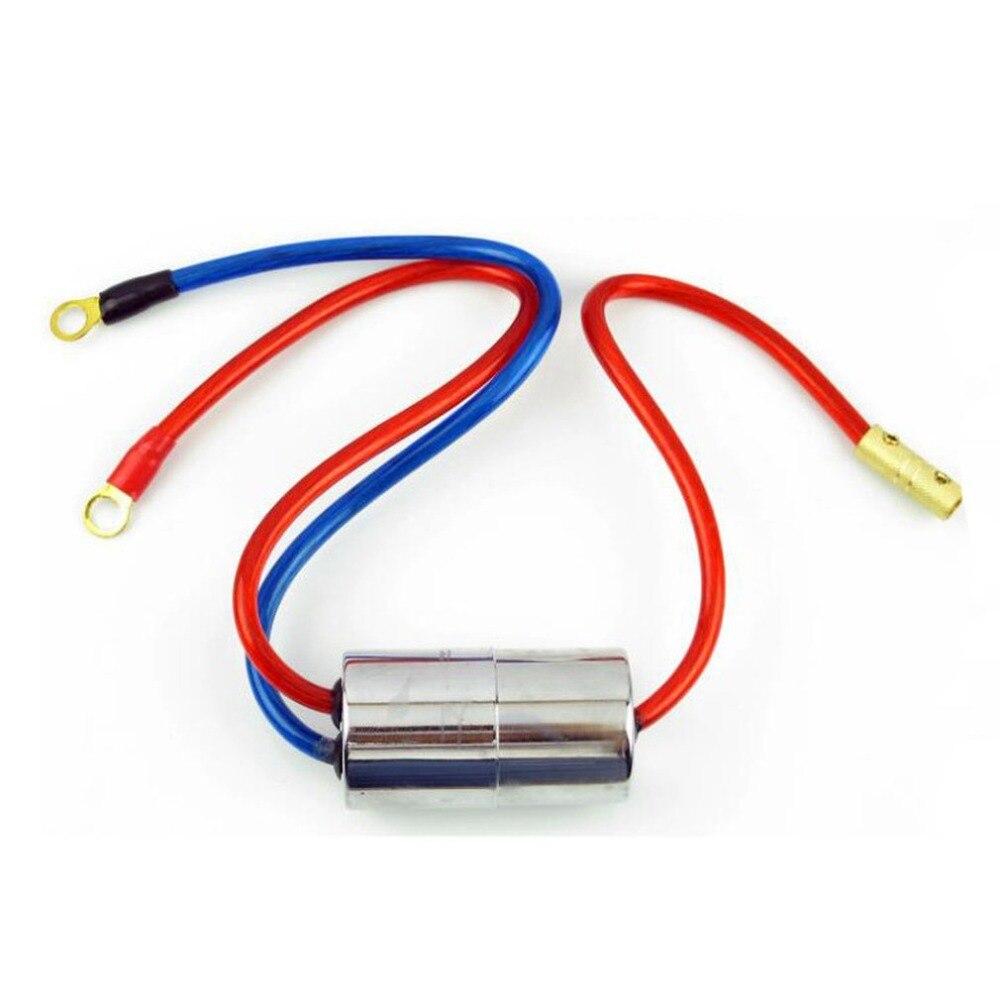 40mm Diamètre DC12V 40A-70A Moteur Puissance Bruit Filtre Bruit Filtre de Conversion De Puissance Élevée Pour Voiture Fournitures