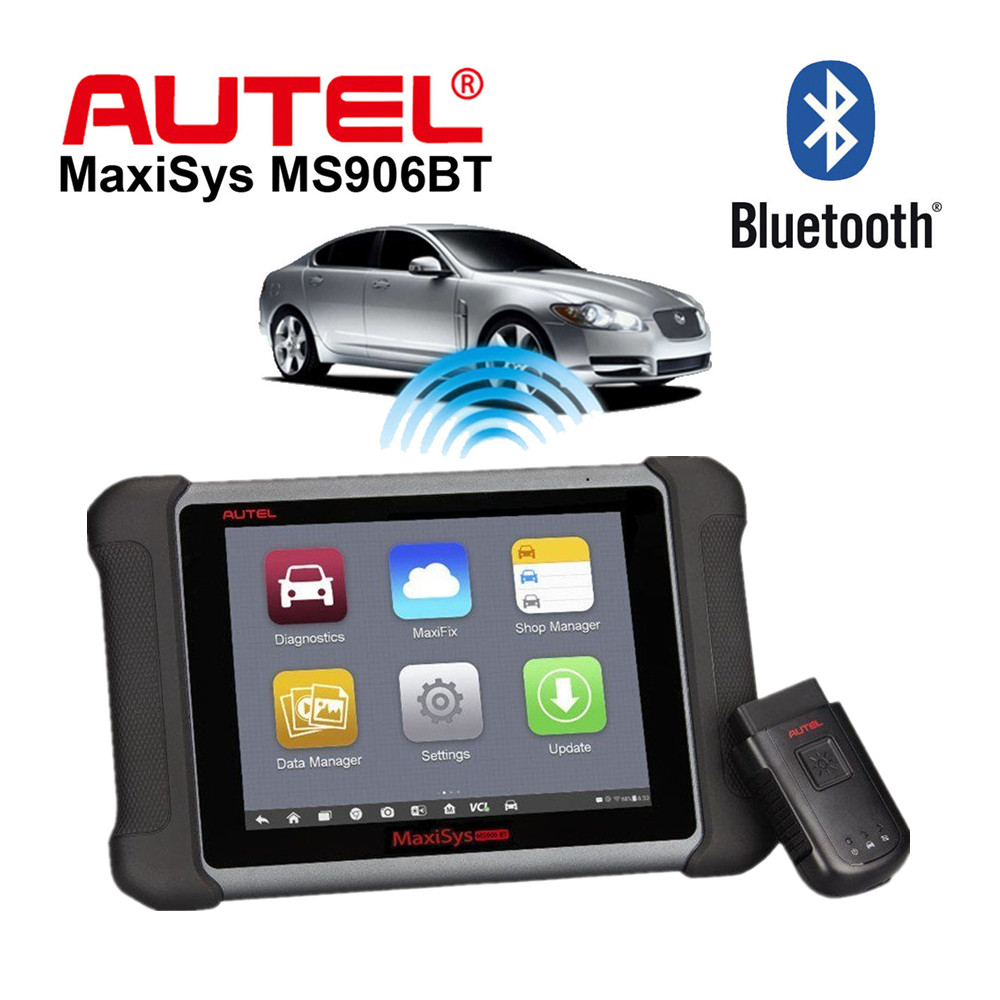 [AUTEL Distributor] AUTEL MaxiSys MS906BT Wireless Diagnostic and ECU Coding Scanner Maxisys MS906 BT Better than MS908 PRO