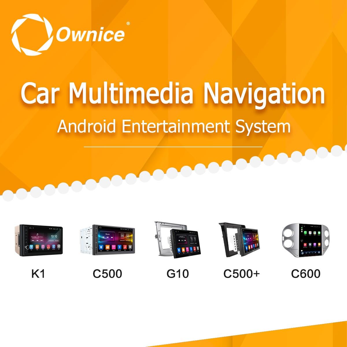 Ownice voiture dvd gps navigation liste de produits sur 300 modèles peuvent s'adapter pour 95% voitures