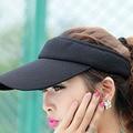 2016 New Hot Selling Tennis Caps Stylish Women Men Unisex Outdoor Beach Sports Sun Visor Hat Golf Baseball Cap Tennis Adjustable