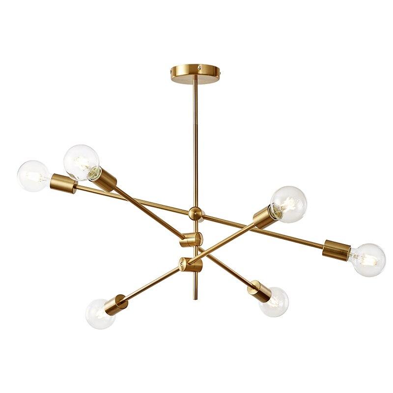 Oprecht Moderne Opknoping Lamp Licht E27 Eetkamer Bed Room Slaapkamer Foyer Ronde Glazen Bal Zwarte Goud Nordic Eenvoudige Moderne Hanglamp Lamp Zo Effectief Als Een Fee Doet