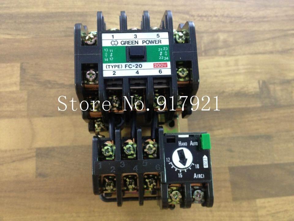 [ZOB] original BMF1-37-20-2 BMF9-37 220V 12-18A genuine original contactor --2pcs/lot