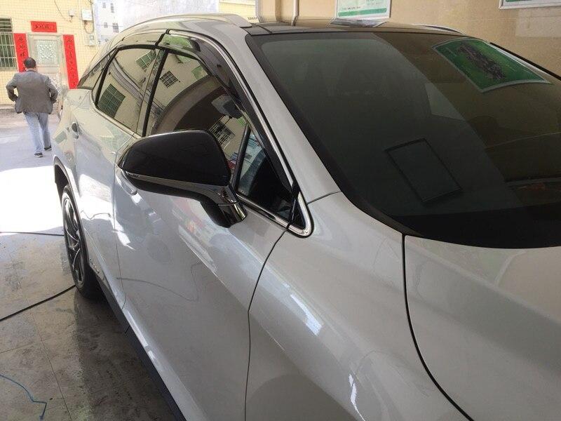 Chevrolet Trailblazer 2002-2010  Side Window Visors Sun Guard Vent Deflectors