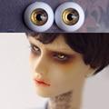 shining dark golden Bjd Eyes for BJD Dolls toys eyeball for 1/3  1/4 1/6 SD Dolls 16mm 18mm 20mm 22mm Acrylic EYEs for toy  doll