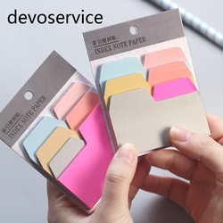 Fresh candy color notebook index notepad memo pad self adhesive sticky notes planner stickers bookmark message.jpg 250x250