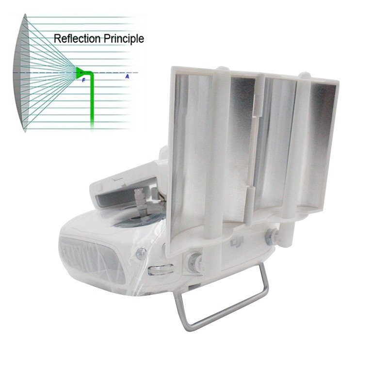 New DJI Phantom 4 3 Inspire 1 Signal Booster Enhance Board Extended Range Parabolic Antenna