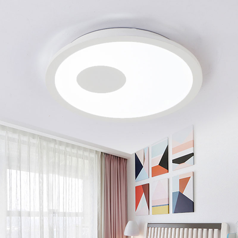 Modern Led Lighting Ceiling Lamp Living Room Bedroom Kitchen Decor Home Light Fixtures White Iron With Remote Control 110-220V round led ceiling light white modern acrylic ceiling lamp dimmable with remote control for kids bedroom lighting fixtures