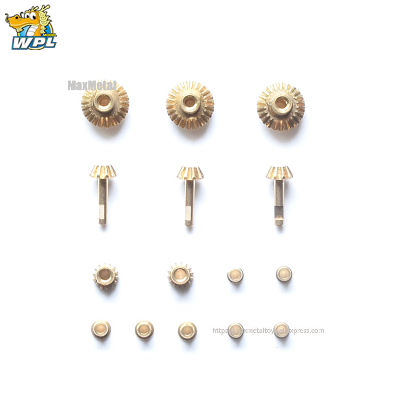 Image 5 - WPL Upgrade DIY Modified Accessories Full Metal Spare Part Metal Shaft Shell Official OP Fitting for B14 B16 B24 C14 C24 C34 B36-in Parts & Accessories from Toys & Hobbies