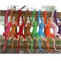 60 cm cor muitos Bonito Crianças Bebê Brinquedos de Pelúcia Macia Bonito Colorido Braço Longo Macaco De Pelúcia Animais Boneca de Presente