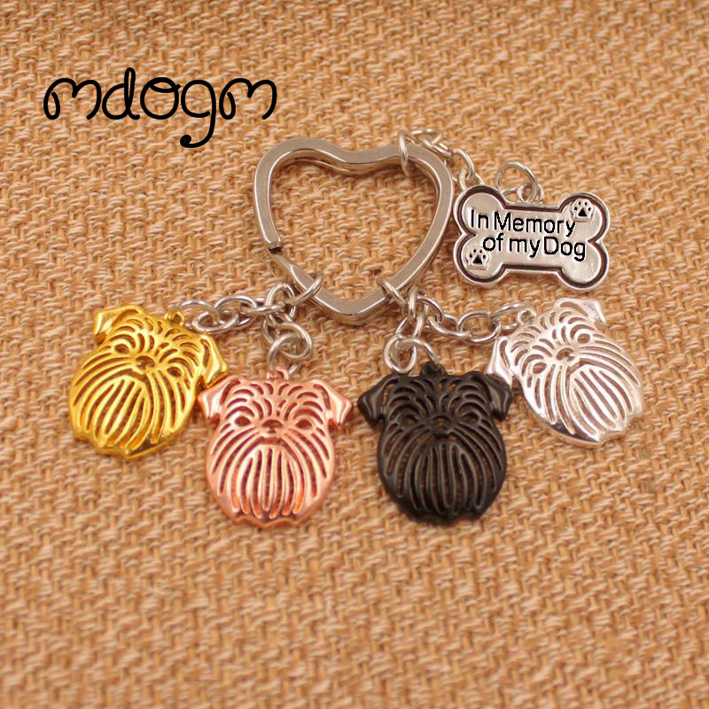 2019 Brussels Griffon Dog Animal Purse Handbag Charm Handmade Pendant Keychain For Bag Car Women Men Girls Love Jewelry K120