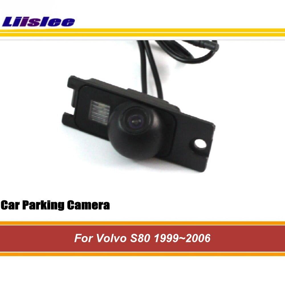 Liislee caméra de recul de voiture pour Volvo S80 1999 ~ 2006/caméra de recul intégrée/Vision nocturne CCD