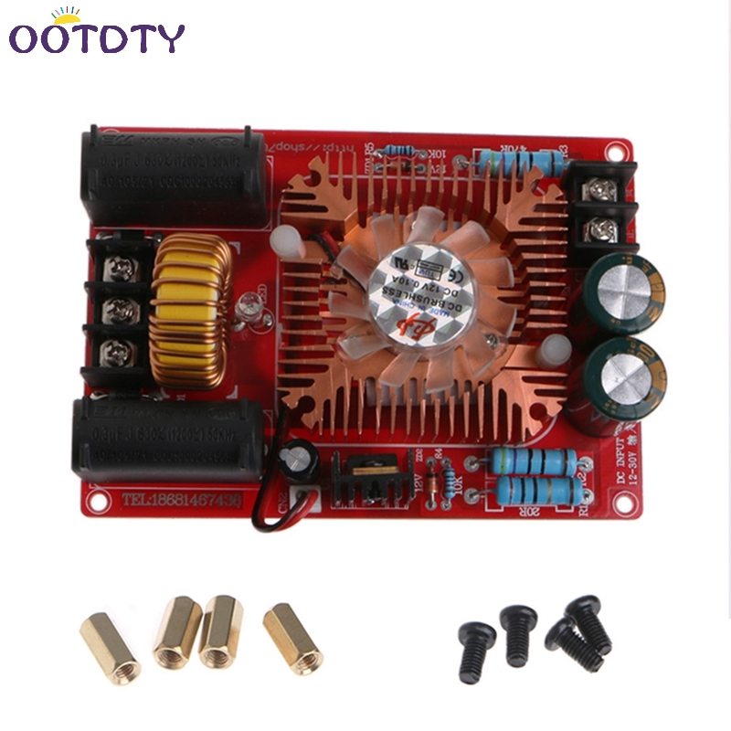 ZVS Tesla Coil Power Supply High Voltage Generator Driver Plate Module 12V-30V-3Z finished zvs tesla coil power boost high voltage generator drive plate induction heating module production