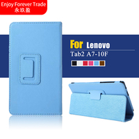 Luxury Magnetic Folio Stand Leather Protective Case Cover Protector For Lenovo Tab 2 Tab2 A7 10F