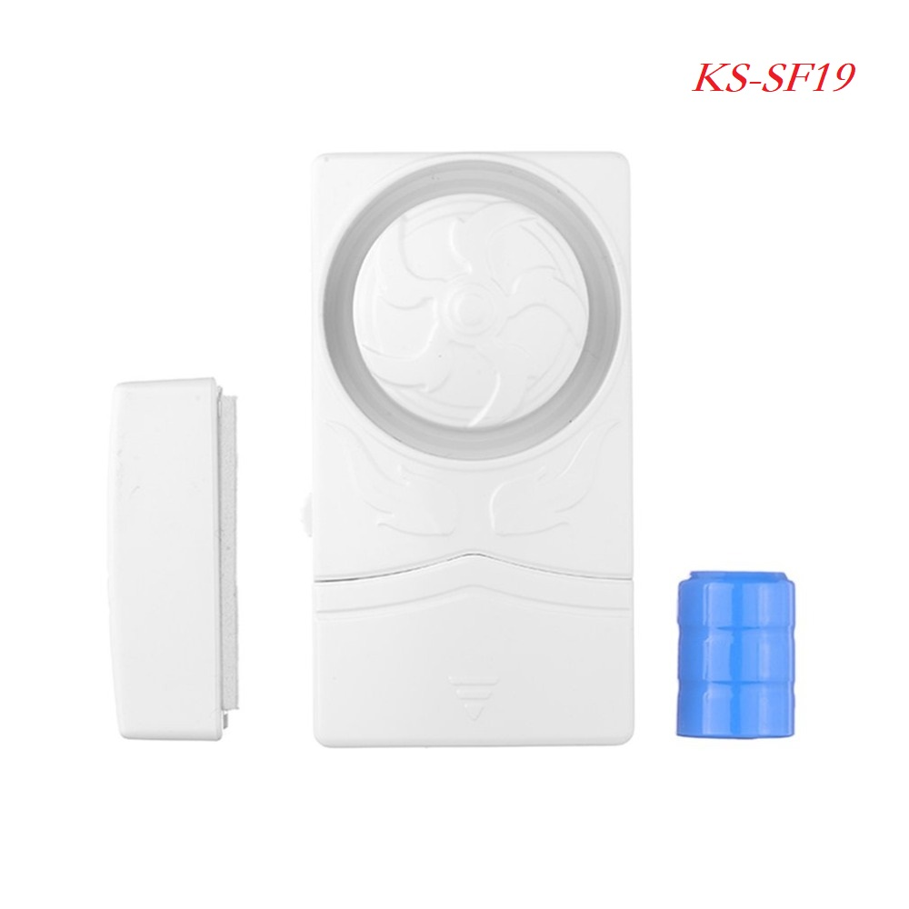 LESHP KS-SF19 105dB Wireless Door Window Magnetic Sensor Switch Window Monitor Home Security Entry Alarm Sensor Wholesales leshp magnetic sensor wireless alarm system door window motion burglar entry security home guarding 105db with led indicator