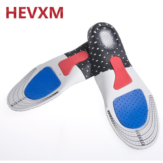 HEVXM Free Size Unisex Orthotic Arch Support Sport Shoe Pad Sport Running Gel Insoles Insert Cushion for Men Women insole comfortable foot care unisex orthotic insoles arch support shoe pad soft gel heel insole non slip insert shock cushion 215