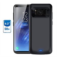 FOR Galaxy S8 Plus Battery Case 5500mAh Battery Portable Charger Protective Charging Case Pack Power Bank Cover for Samsung S8+