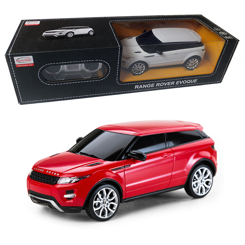 Licensed 1:24 Remote Control Car RC Toys Radio Controlled Cars Boys Toys Machine On The Remote Control Range Rover Evoque 46900