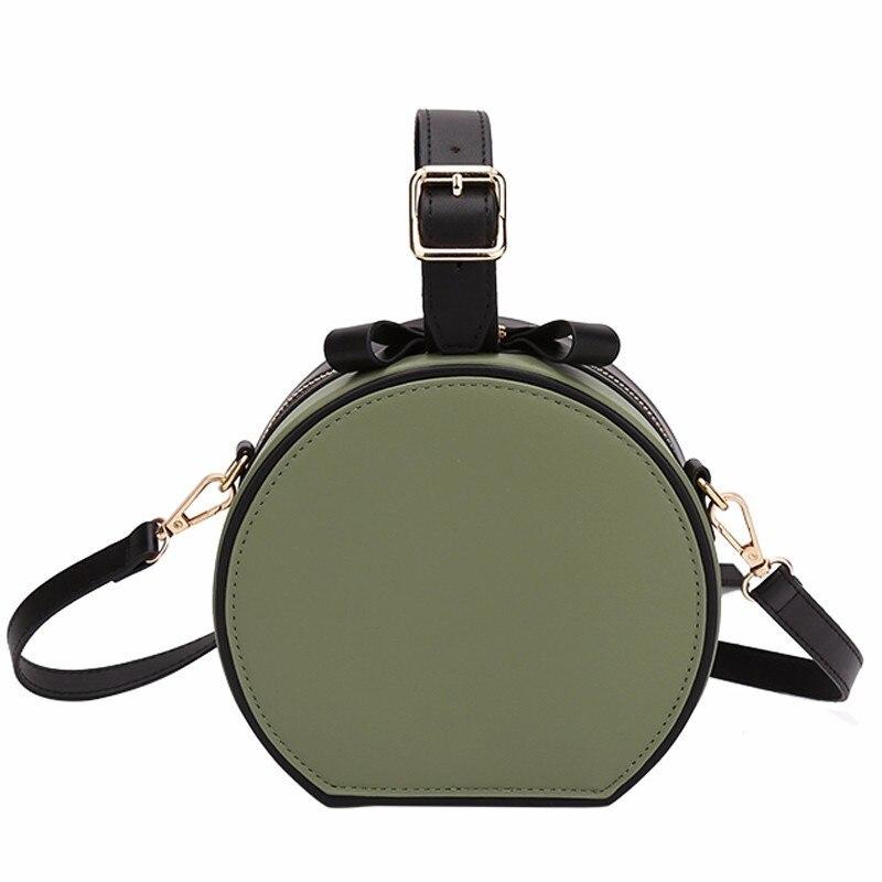 New 2018 Pu Leather Girls Fashion Shoulder Bag Round Package Women Messenger Bags Female Buckle mobile Crossbody Flap Design Bag все цены