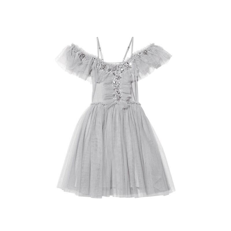 1-8 ans 2018 INS HOT enfants robes filles robes de mode filles TUTU robes de haute qualité dentelle robes de fête cadeaux d'anniversaire