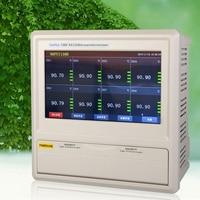 Fast arrival 130D 24 multi channel temperature recorder Channel 24 touch screen temperature recorder 10 inch TFT LCD screen
