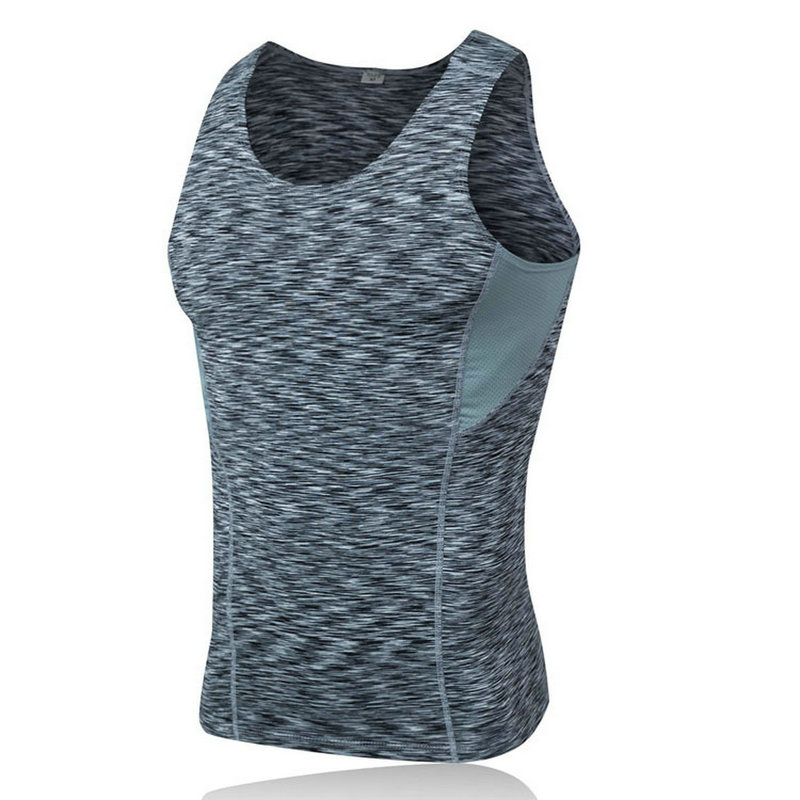 Hot Burst Sleeveless Quick Dry Sportswear Fitness Bodybuilding Yoga Shirt Breathable Men Running Sports Jerseys Gym T-shirt Tops