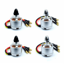 สำหรับ DJI 2212 920kv Brushless Motor CW Sliver CCW มอเตอร์สีดำไม่มี soldering สำหรับ DJI F450 F550 Quadcopter Drone