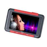 CARPRIE NIce Red Color 8GB Slim MP5 Music Player With 4.3 LCD Screen FM Radio Video Movie Oct 10 Dropship