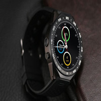 Kingwear bluetooth Smart Watch KW88 MTK6580 Support Wifi GPS 3G Heart rate SIM HD camera Luxury