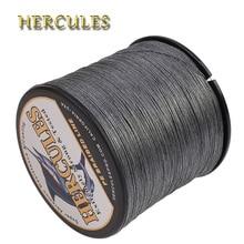 Геркулес леска 100 м 300 м 500 м 1000 м 1500 м 2000 м 8 нитей 10-300LB серый ЧП Плетеный линии карп рыболовные принадлежности PESCA